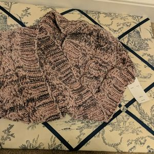 NWT pink and gray infinity scarf - SUPER SOFT!!